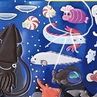 添付の画像で、まるをつけた豚の様な深海魚は何ですか?  よろしくお願いします!