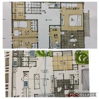 間取り考えています_:(´ཀ`」 ∠): 改善点や、こうした方が良かったなど教えてください(>人<;)  間取り 設計士 建築士 注文住宅