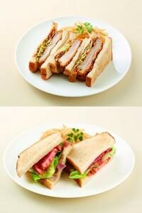 カツサンドとBLTサンド、どっちが食べたいですか?