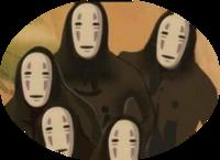 【カオナシになっちゃった!】  もしもある日突然、世界中の人たちから「顔」がなくなってしまったとします。 「千と千尋の神隠し」のカオナシみたいな人間だらけになったとします。  そう なったら「この人...