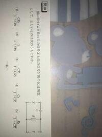 CR回路の伝達関数についての考え方を教えて下さい。