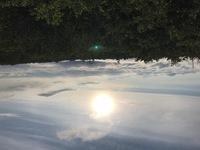 蔵王山頂写真です このブルーの明かりは、何でしょうか? ご存知の方教えてください