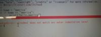 python初心者です。syntax errorを解除したいので教えてください。 if,else文の練習をしているのですが、何度やってもelseの文章にエラーが起きて前に進めません。 エラーは以下の通りです。 syntax error;unind...