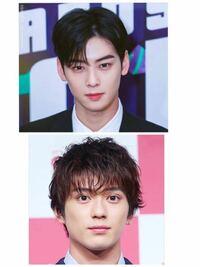 顔面美形対決 韓国の俳優チャ・ウヌ vs 日本の俳優 新田真剣佑 どっちの方が美形で整っていると思いますか?