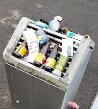 これは灰皿? それともゴミ箱?