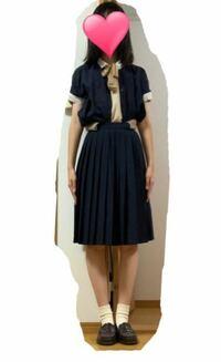 家にあった服と、靴下とストッキングで乃木坂46の24thシングル制服を真似して作ってみたんですけど、クオリティー高くないですか?
