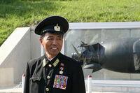 旧ソ連軍や中国人民解放軍、朝鮮人民軍の軍帽のデザインについて質問です。  なぜ旧ソ連軍や中国人民解放軍、朝鮮人民軍の将校や将軍が被る軍帽のデザイン、天玉(?)はあんなに広いのでしょうか? その理由は分かる人が居れば、理由を教えて下さい。