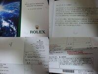 日本ロレックスでのオーバーホールに関する真正ロレックスオーナーの皆様への質問です。 古いref:16233をオーバーホール見積を日本ロレックスに頼んだのですが、なんと基本料金が値上がりしておりました(;^_^A 以前はなかった内装部品修復1万円!というわけのわからない項目も増えています。  現在オーバーホールに基本料金6万円オーバーホールに(税抜き)(;^_^A 昨年、16234をオ...