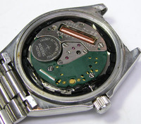 SEIKO 腕時計 オシドリの位置を教えてください。
