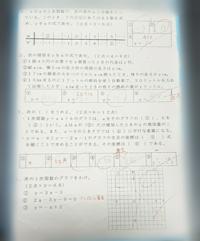 中学二年生数学の問題です! 間違ってる所の答え・簡単な解説を教えて下さい。  ※答えられる所だけで大丈夫です( ̄^ ̄ゞ