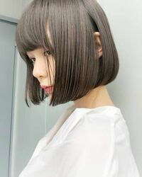 現在レベル8程の茶髪です。 ブリーチなしでこのようなグレージュ(?)に染まりますか?