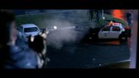 ターミネーター2でガトリング銃とグレネードランチャーで警官隊を追っ払うシーンでガトリング銃は恐らく違いますが、グレネードランチャーは本当に撃っているみたいなのですがどうなんですかね ?