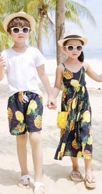 ハワイのホノルル で子供服(男の子・女の子)でお揃いの服が買えるおすすめショップありますか?