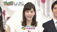 日本テレビの佐藤梨那アナは、日本テレビの岩田絵里奈アナとTBSの山本里菜アナのどちらに似ていますか?  (◆ taka23さん用◆)
