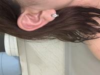 福耳なんですが耳たぶにもう一個開けたいなって思うんですがバランス悪いですかね?  ヘリックス(片耳)もいずれは開けたいと思ってます。