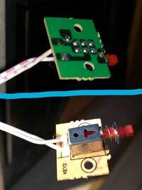 アイリスオーヤマのIHクッキングヒーターの電源スイッチ基板(ON・OFF切り替えスイッチはホリゾンタルタイプのプッシュスイッチ)なんですが、新品で売ってないですか?
