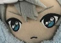 ぬいの目に付いている石は接着剤で付けているのですか?それともシールタイプの石ですか?