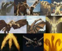 東宝怪獣のギドラ(歴代全員)はドラゴン(西洋)、ドラゴン(東洋)、ワニ、トカゲ、ヘビ、恐竜、ウナギならば、誰に一番にていますか?