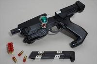 特撮に出る銃系の武器で好きなのを教えて下さい。私はこれです。 ・オートデリンガー(ジバン) ・ギガストリーマー(ウインスペクター) ・リボルバックG3、ヘビーサイクロン(エクシードラフト) ・ジャンデジック、ジックキャノン(ジャンパーソン) ・ディクテイター(画像)、ドラムガンファイヤー(ブルースワット) ・ドリルスナイパーカスタム(メガレンジャー) ・ブイマシンガン、ゴーブラス...