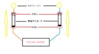 ウィンカーランプに整流ダイオードをかませるやり方  ウィンカーランプに整流ダイオードをかませるやり方 を教えてください。 画像を見てもらったほうがはやいですが、整流ダイオードを 左右のウィンカー線(...