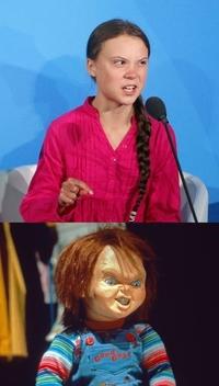 国連のチャッキーことグレタ・トゥーンベリさんは発達障害を告白してますが、パチンコカテゴリーのチャッキーは誰ですか?