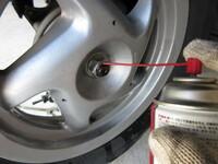 Dio AF68の後ろタイヤのタイヤホイール固定してるこのボルトは何mm? でしょうか?調べまくったのですが出てきません わかる方教えてくださいよろしくお願いします。