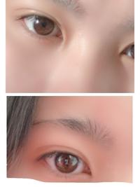 自分の目の色が嫌いで好きになれません。私の目の色は茶色ですか?日本人にはこの目の色の人多いですよね〜 因みに上の写真は光が当たっている写真で下の写真は外は明るいけど光を布団で少しさ えぎっています。...