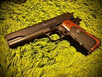 エアソフトガンと実銃用ラバーグリップについてです。 パックマイヤー製の実銃用グリップを購入し、 東京マルイ、18歳以上用のエアーコッキングガン コルトガバメントに取り付けました。  ふと気になったのですが、実銃用ラバーパーツ、プラを侵食しますか?  エアコキガバはプラまんまですよね。  ヘビーウエイト樹脂も危ないんでしょうか? 塗装面の上からなら大丈夫ですかね?  ご回答よろしくお願い致します。