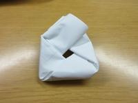 この折り方(たたみ方)の名称を知っている方がいましたら教えてください。