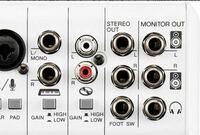 ミキサーからモニタースピーカーへの出力についてです このような感じでモニターアウトがLR2つあってスピーカーの入力端子もLR2つある場合はステレオ標準ケーブルを2本買って接続すれば大丈夫ですか?