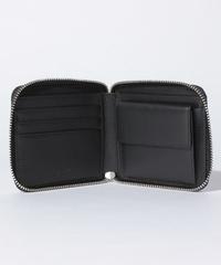 画像のような二つ折りのラウンドファスナーの財布を使用したかのある方、使い心地はどうですか?お札がファスナーに当たって取り出しなくそうな感じがしますがどうでしょうか。