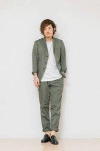 セミフォーマルな服装に関してです ジャケットに、ワイシャツ、ネクタイ、ズボンに、革靴が基本だと思います。  そこで、ジャケットに、無地のロングTシャツもしくは、ワイシャツ(どちらもインではなくアウト)...