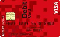 三菱UFJ デビットカードの支店番号、口座番号ってどこを見たら分かりますか?
