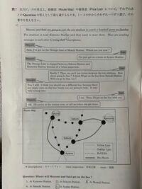 神奈川県入試の英語の問7(ア)はどうして2になるのでしょう?