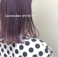 ブリーチ1回、今現在 茶色 の 髪の毛でこの色にすることは出来ますか? ラベンダーパープルです
