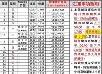 中国語、台湾語が分からず困っています。 台湾にある「奎壁山地質公園」に行きたいと考えております。 ここは干潮の時間のみ開放される風光明媚な観光スポットです。 現地の潮見表を見ると添付のような記載にな...