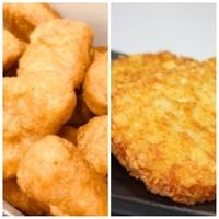 「チキンナゲット」と「ハッシュドポテト」  どちらの方が好きですか?