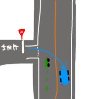 自動車とバイクの事故について、どなたかご教授下さい。  当方、優先道路をバイクにて直進中に信号のない交差点で左側からこちらを見ずに右折しようとしている自動車がいたため減速、交差点前 で直前停止しました。 しかし自動車側は全くこちらを見ずに右折し、巻き込まれる形で接触。 自動車の前方右部分と、バイクの前方右部分が接触しました。 自動車を運転されていた方はしっかりと一時停止していたかは...