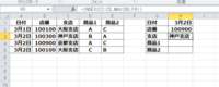 エクセル2010の関数を教えてください。 先ほど下記リンクを質問しまして解決しました。 https://detail.chiebukuro.yahoo.co.jp/qa/question_detail/q12221453847  次にセルの並びを横から縦にして関数を組ん...