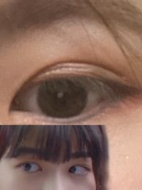 理想が下で自分が上です。 私の目の形的に理想の目になることは難しいのでしょうか?もし再開するのであれば二重の形を変えるのと目尻切開になるのでしょうか? また、私の今の目に涙袋を足す と不自然になってしまいますか??