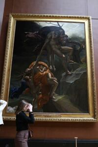 先日ルーブル美術館を訪れました。こちらの絵画はなんでしょうか?
