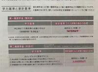 奨学金を受けられる対象から教えてください。 春から大学生です。 JASSOの奨学金を受けたいと考えています。  写真にあるように、 日本学生支援機構の「貸与奨学金」の第一種奨学金(無利息)または第二種奨学金(利...