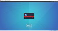 kali linuxをvirtual boxに入れて起動したときに下のような画面が出できたのでkali linuxにサインアップしてユーザー名とパスワードを入れたのですがパスワードが間違っていると出て ログインできませんどうした...