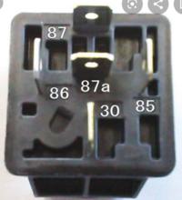 5極リレーの配線を教えて下さい デイライトを付けたいのですが ACCがONでデイライトが点灯 ヘッドライトがONでデイライトが消灯 この様な配線をする場合の接続の仕方を教えて下さい よろしくお願いします