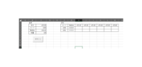 VBAでデータ登録したいです。  添付した登録の表にデータを入力し、ボタン1を押すと 日別の対応した日付の製品名のセルに数量を反映させたいです。  VBA初心者の為、コードが分かりません。 アドバイスお願...