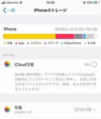 iCloudに写真をアップロードしたいのですが0%のまま進みません。これはiPhone自体のストレージがいっぱいいっぱいなのと関係はあるのでしょうか?