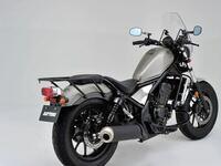 将来レブル250を買うつもりなんですが、このバイクで釣行や魚突きには行けますかね?ロッドやモリ、タモなどは自分で担ごうと思っています。クーラーボックスは後ろに縛りつけようと思っています。サイドバックもつ けるつもりです
