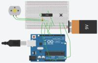 Arduinoで回路作ったんですけどこれ安全性は大丈夫ですか?抵抗とかつけたほうがいい場所ありますか?