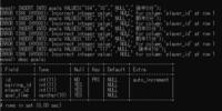 MySQLでのエラーについての質問です。  エラー内容は以下の通りです。 ERROR 1366 (HY000): Incorrect integer value: ' NULL' for column 'player_id' at row 1  カラムplayer_idはint形で設定しているので...