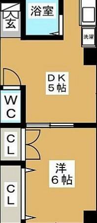 間取り図に詳しい方へ この間取り図から部屋の寸法わからないでしょうか?  25.9㎡の物件です。 6帖間はクローゼット入れずに6帖との説明ですが5帖のダイニングよりも狭いような? 各部屋の だいたいの寸法と...